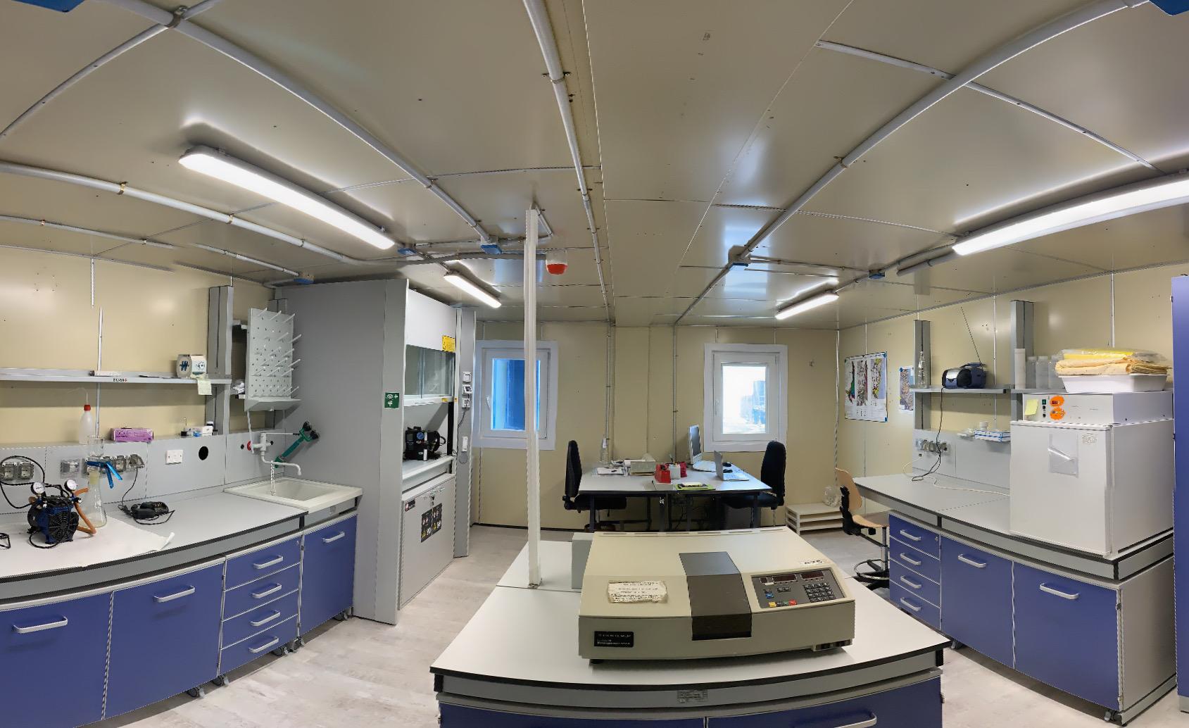 immagine del laboratorio rinnovato