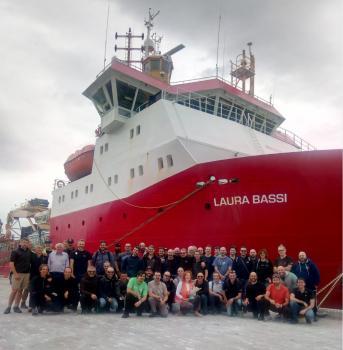 Nuova Zelanda: Personale sbarcato dalla Laura Bassi